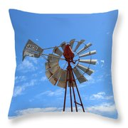 Milled Wind Throw Pillow by Stephen Mitchell