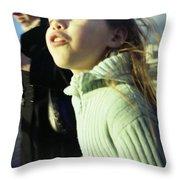 Millenium Bridge IIi Throw Pillow