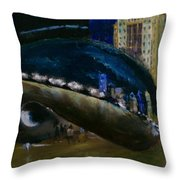 Millennium Park - Chicago Throw Pillow