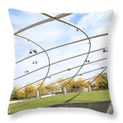 Millennium Park Throw Pillow