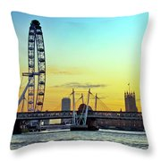 Millennium Sunset Throw Pillow