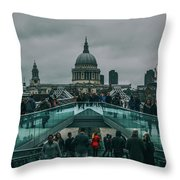 Millennium X St Paul's Throw Pillow