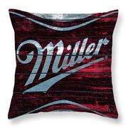 Miller 1b Throw Pillow