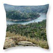 Millerton Big Bend Finegold Park Throw Pillow