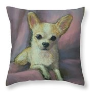 Millie, Chihuahua Throw Pillow