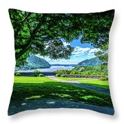 Million Dollar View From West Point Military Academy Throw Pillow