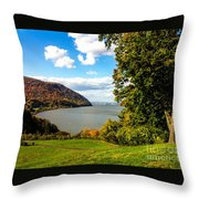 Million Dollar View Throw Pillow