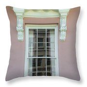 Mills House Pink   Throw Pillow