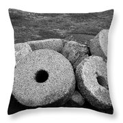Millstones Throw Pillow