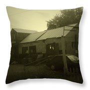 Milltown Merchantile Throw Pillow