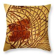 Milos Return - Tile Throw Pillow