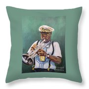 Milton Baptiste Throw Pillow