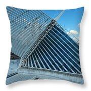 Milwaukee Art Museum #33 Throw Pillow