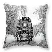 Milwaukee Road 261 Throw Pillow