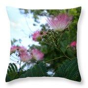Mimosa Sky Throw Pillow