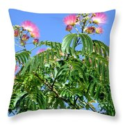 Mimosas In The Sky Throw Pillow