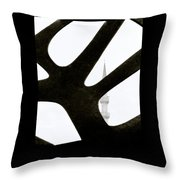 Minaret And Art Throw Pillow