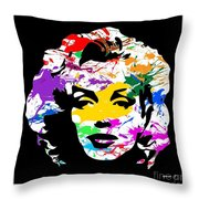 Mind Altering Marilyn Throw Pillow