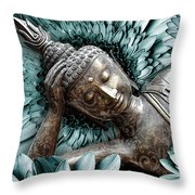 Mind Bloom Throw Pillow by Christopher Beikmann
