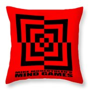 Mind Games 10se Throw Pillow