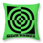 Mind Games 1se Throw Pillow