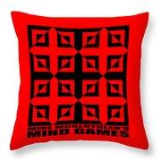 Mind Games 37se Throw Pillow
