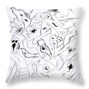 Mind In Motion 4 17042 Throw Pillow
