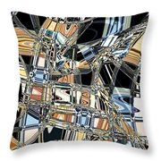 Mind Maze Throw Pillow