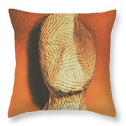 Mind Of A Philosopher Throw Pillow