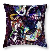 Mind Reader Throw Pillow