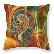 Mindtrip Throw Pillow