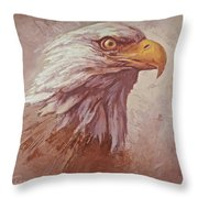 Mine Eyes Have Seen Throw Pillow