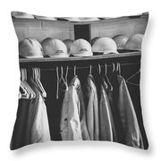 Mine Protection Throw Pillow