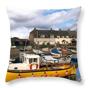 Minehead Sommerset Throw Pillow