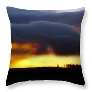 Minera Sunset 2 Throw Pillow