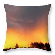 Minera Sunset Throw Pillow
