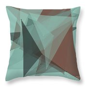 Mineral Polygon Pattern Throw Pillow