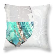 Mineral Water Throw Pillow