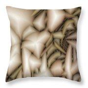 Minerals Throw Pillow