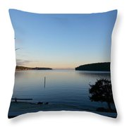 Miners Bay Nye Morning 2015 Throw Pillow