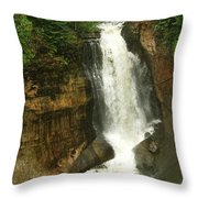 Miners Falls Throw Pillow