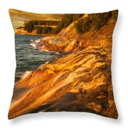 Miner's Point Throw Pillow