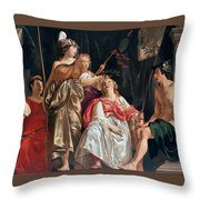 Minerva Crowns The Maid Of Leiden Throw Pillow