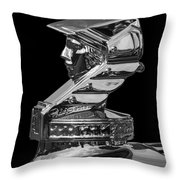Minerva Hood Ornament Throw Pillow