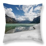 Minewanka View Throw Pillow