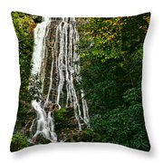 Mingo Falls - Gsmnp Throw Pillow
