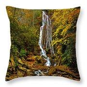 Mingus Falls Throw Pillow