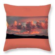 Mingus Sunset 052814bb Throw Pillow