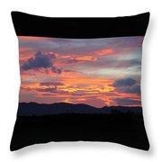 Mingus Sunset 052814cc Throw Pillow