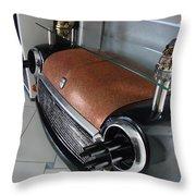Mini 007 Throw Pillow